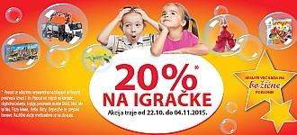 Muller igračke -20% popusta