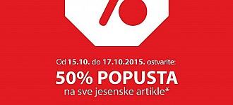 NKD akcija -50% na jesenske artikle