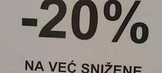 Orsay akcija -20% popusta na sniženo