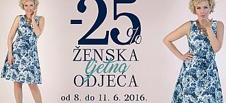 Mana vikend akcija -25% ženska ljetna odjeća