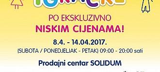 Orbico rasprodaja igračaka travanj 2017