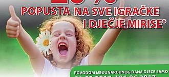 Muller akcija -20% igračke i dječji mirisi