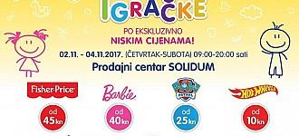 Orbico rasprodaja igračaka studeni 2017