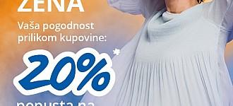 Takko akcija -20% na žensku odjeću