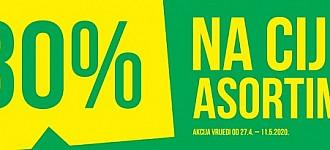 Pepco akcija -30% na cijeli asortiman