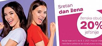 Deichmann akcija Dan žena 2021