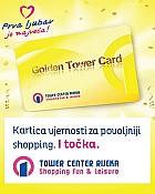 Pogodnosti uz Golden Tower karticu
