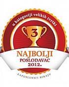 Kozmo 3. najbolji poslodavac u Hrvatskoj