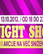 Vozni red  – Roses bus 13.10.2012. late night shoping