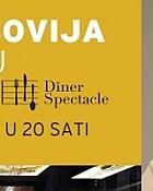 Diners spectacle i Tereza Kesovija večeras u restoranu Les Ponts