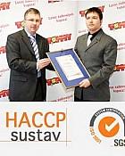 Tvrtki Tommy d.o.o. dodjeljen certifikat HACCP od strane certifikacijske kuće SGS