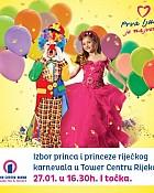 Izbor princa i princeze riječkog karnevala u Tower Centru Rijeka