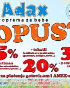 Popust u Adaxu