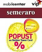 Popusti u MOBIL CENTRU VIP i SEMERARU uz Golden Tower Card