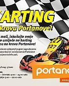 Karting na krovu Portanove