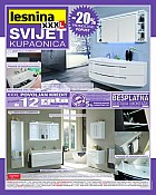 Lesnina XXL katalog kupaonica