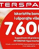 INTERSPAR katalog- poklon bonovi