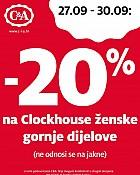 C&A vikend akcija -20%
