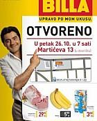 Billa katalog Zagreb Martićeva