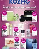 Kozmo katalog parfemi listopad