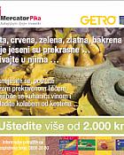 Mercator i Getro kuponi listopad