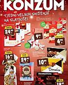 Konzum katalog sniženje slatkiša