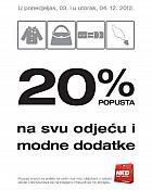 NKD akcija -20%