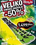 Hervis katalog zimsko sniženje/ sjeverna Hrv.