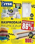 Jysk katalog rasprodaja do 16.1.