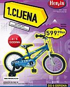 Hervis katalog bicikli, tenisice