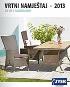 JYSK katalog vrtni namještaj 2013