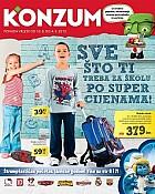 Konzum katalog škola 2013