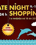 West Gate Late Night Shopping ljetna rasprodaja do 11.8.