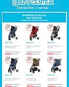 Baby Center akcija Rasprodaja kolica i autosjedalica