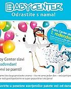 Baby center akcija za 1. rođendan