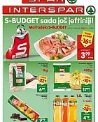 Interspar Spar katalog SBudget