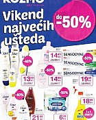 Kozmo katalog Vikend uštede do -50%