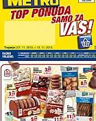 Metro katalog Top ponuda do  13.11.