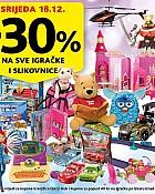 Konzum akcija -30%  na igračke