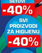 Metro akcija -40% popusta svi parfemi, kozmetika i higijena