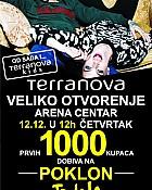 Terranova otvorenje Arena centar Zagreb