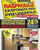 Lesnina katalog Rasprodaja eksponata