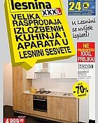 Lesnina katalog rasprodaja kuhinjskih eksponata