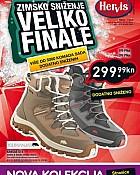 Hervis katalog Veliko finale sniženja Zagreb Rijeka