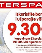 Interspar kuponi do 25.2.