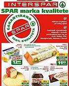 Interspar i Spar katalog Spar marka