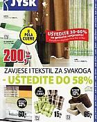 JYSK katalog zavjese, tekstil