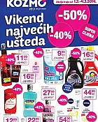 Kozmo katalog vikend uštede do 4.3.
