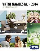 JYSK katalog Vrtni namještaj 2014