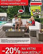 Kika katalog Vrtni namještaj 2014